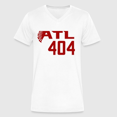 ATL 404 Atlanta Falcons - Men's V-Neck T-Shirt by Canvas