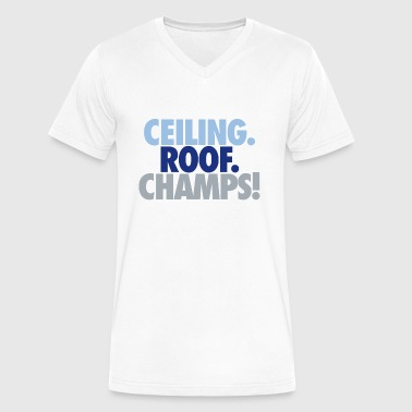 Ceiling roof champs - Men's V-Neck T-Shirt by Canvas