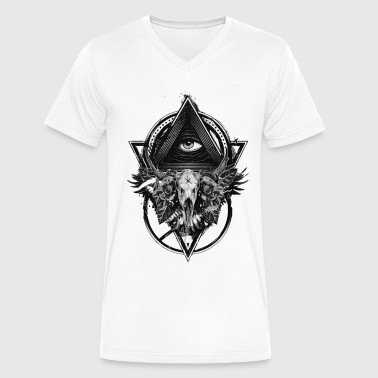 The deepest look. - Men's V-Neck T-Shirt by Canvas