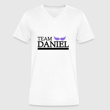 Team Daniel - Men's V-Neck T-Shirt by Canvas