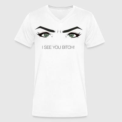 Cardinal´s - I see you bitch! - Men's V-Neck T-Shirt by Canvas