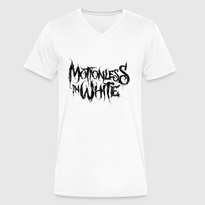 Motionless In White - Men's V-Neck T-Shirt by Canvas