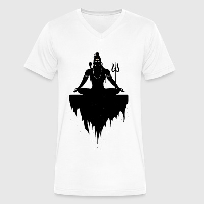 Lord Shiva - Men's V-Neck T-Shirt by Canvas