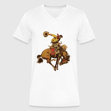 rodeo - Men's V-Neck T-Shirt by Canvas
