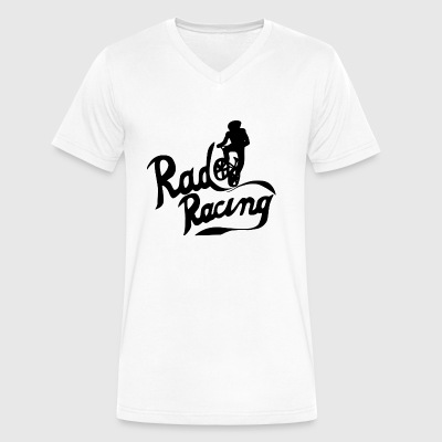 Rad Racing - Men's V-Neck T-Shirt by Canvas