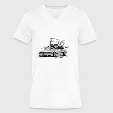 e36 - Men's V-Neck T-Shirt by Canvas