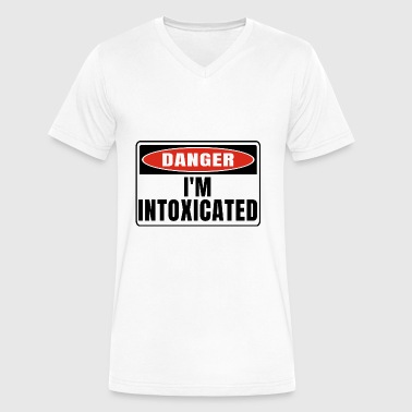 Danger im Intoxicated - Men's V-Neck T-Shirt by Canvas