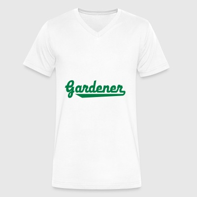 gardener - Men's V-Neck T-Shirt by Canvas
