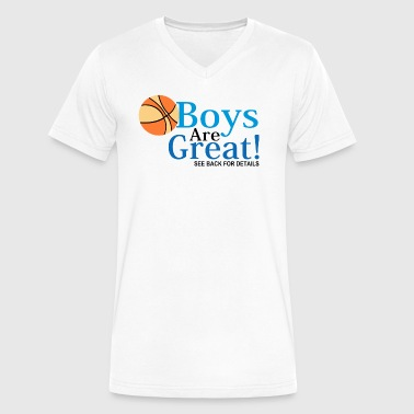 Every Girls Basketball Team Needs a Waterboy T Shi - Men's V-Neck T-Shirt by Canvas