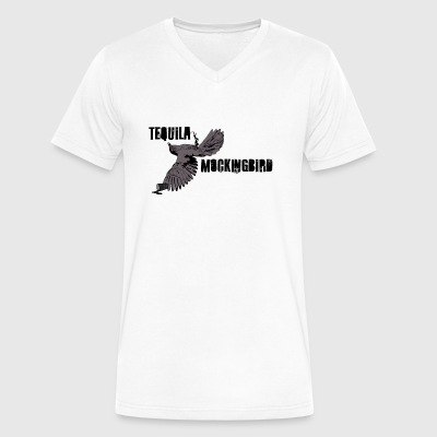 Tequila Mockingbird - Men's V-Neck T-Shirt by Canvas