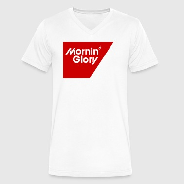 Mornin Glory - Men's V-Neck T-Shirt by Canvas