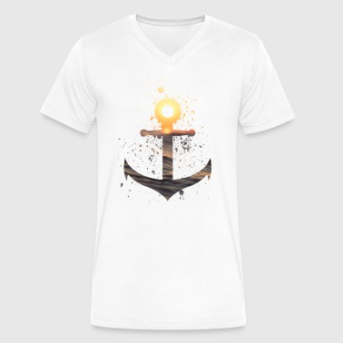 Anchor - Men's V-Neck T-Shirt by Canvas