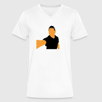 The Gamer - Men's V-Neck T-Shirt by Canvas