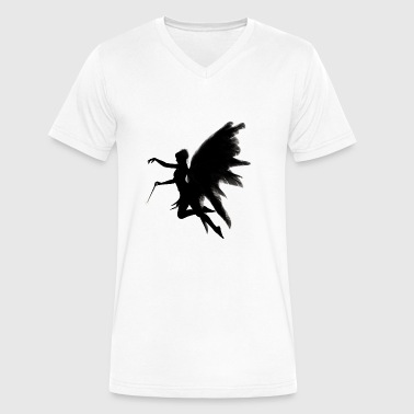 angel - Men's V-Neck T-Shirt by Canvas