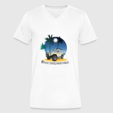 G'day Adventure Tours - Men's V-Neck T-Shirt by Canvas