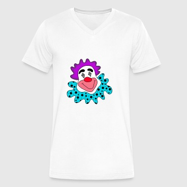 Clown - Men's V-Neck T-Shirt by Canvas