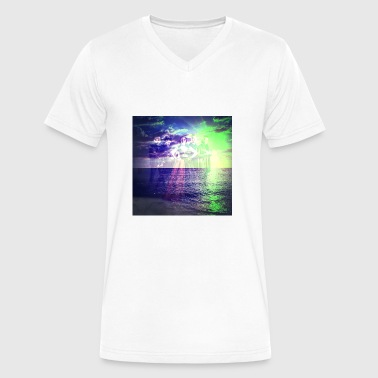 Evanescence graphic design - Men's V-Neck T-Shirt by Canvas