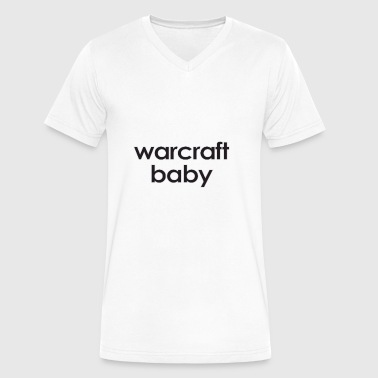 Warcraft baby: Warcraft baby - Men's V-Neck T-Shirt by Canvas
