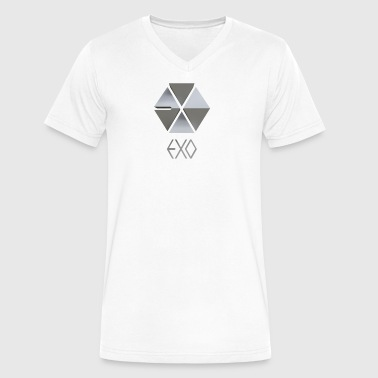 Exo - Men's V-Neck T-Shirt by Canvas