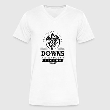 DOWNS - Men's V-Neck T-Shirt by Canvas