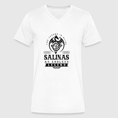 SALINAS - Men's V-Neck T-Shirt by Canvas