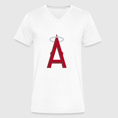Angels of Anaheim - Men's V-Neck T-Shirt by Canvas