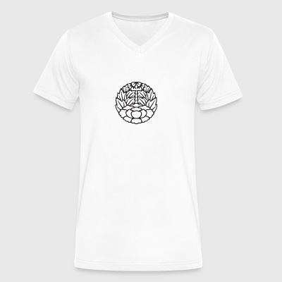 Tall Timber Crest - Men's V-Neck T-Shirt by Canvas