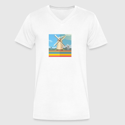 Holland - Men's V-Neck T-Shirt by Canvas