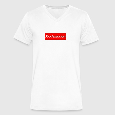 xxxTentacion Supreme Logo - Men's V-Neck T-Shirt by Canvas