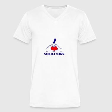 SOLICITOR Design - Men's V-Neck T-Shirt by Canvas