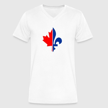 French Canadian - Men's V-Neck T-Shirt by Canvas