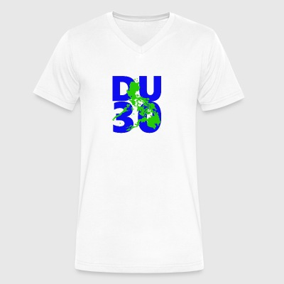 DU30 philippines. President Duterte DU30 - Men's V-Neck T-Shirt by Canvas