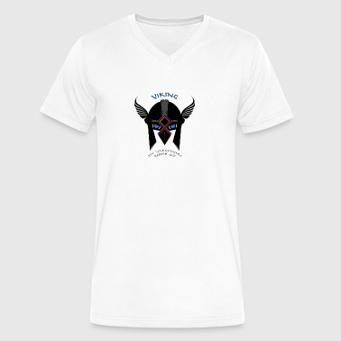 VIKING The Vanquishers Return 2017 - Men's V-Neck T-Shirt by Canvas