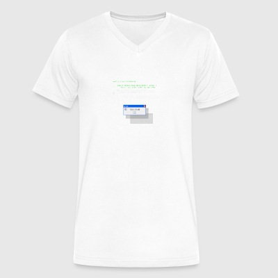 java_helloworld - Men's V-Neck T-Shirt by Canvas