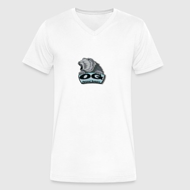 Outcast Gamers Simple logo - Men's V-Neck T-Shirt by Canvas