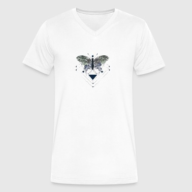 Borboleta - Men's V-Neck T-Shirt by Canvas