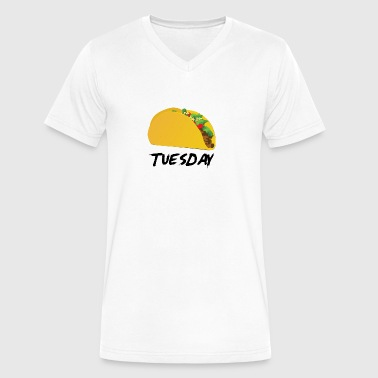 Taco Tuedsay - Men's V-Neck T-Shirt by Canvas