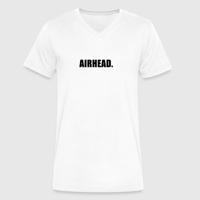 AIRHEAD - Men's V-Neck T-Shirt by Canvas
