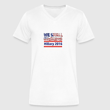 Anti-Trump design - Men's V-Neck T-Shirt by Canvas