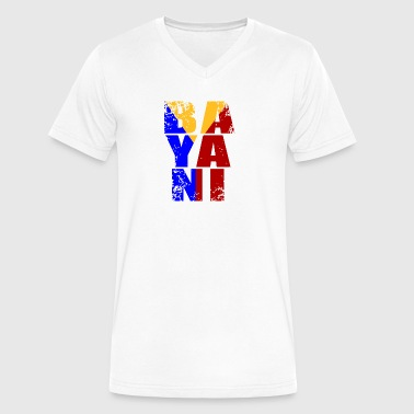 Bayani the Sacrifice of a Filipino - Men's V-Neck T-Shirt by Canvas