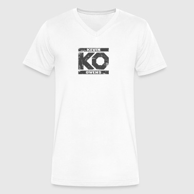 KEVIN OWENS - Men's V-Neck T-Shirt by Canvas
