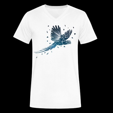 Parrot - Men's V-Neck T-Shirt by Canvas