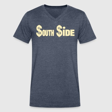 $outh$ide - Men's V-Neck T-Shirt by Canvas