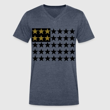 American Stars - Men's V-Neck T-Shirt by Canvas