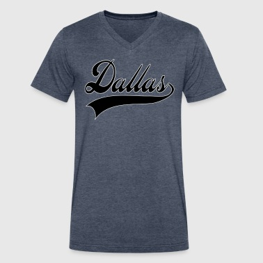 dallas - Men's V-Neck T-Shirt by Canvas