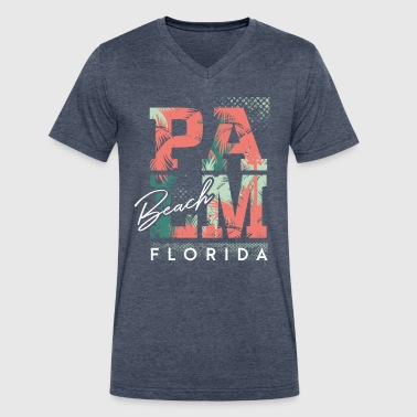 Florida - Men's V-Neck T-Shirt by Canvas