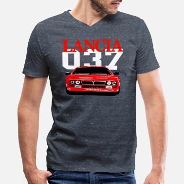 Stratos Lancia rally champion - Men's V-Neck T-Shirt by Canvas