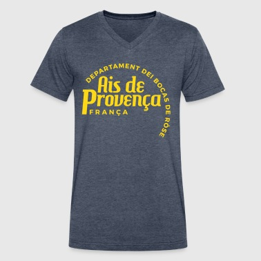 Aix-En-Provence - Men's V-Neck T-Shirt by Canvas