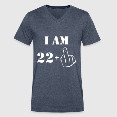 23rd Birthday T Shirt 22 + 1 Made in 1994 - Men's V-Neck T-Shirt by Canvas