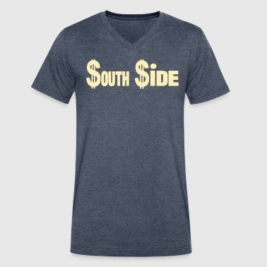 Ides $outh$ide - Men's V-Neck T-Shirt by Canvas